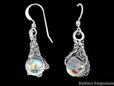 Arkenstone Earrings14k White Gold Lord of the Rings and The Hobbit