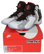 Nike Lil Penny Posite LIMITED RARE BRAND NEW 630999-100 White Silver Black Red