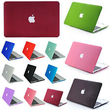 Rubberized Hard Matte Protect Case Cover For Apple Macbook 13/15'' Laptop Shell