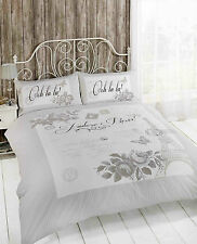 Paris Duvet Cover Set for Single,Double and King Size Bed