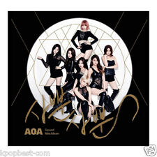 AOA - Like A Cat (2nd Mini Album) CD +Photobooklet+Photocard+Poster+Gift K-pop