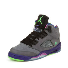 "Nike Boys Air Jordan 5 Retro (GS) ""Bel-Air"" Cool Grey-Pink-Purple 621959-090"