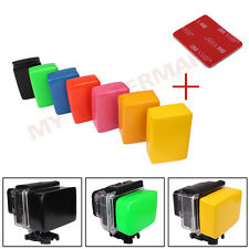 7 Colors Floaty Backdoor Flotation on Camera Float w/Taps for Gopro Hero2 3 3+ 4