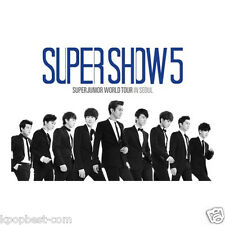 Super Junior - World Tour In Seoul [SUPER SHOW 5] (2 DVD + Poster+Gift Photo)