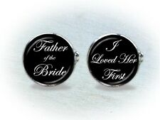 Wedding Cufflinks - Father of the Bride, Father of the Groom, Brother, Groomsman