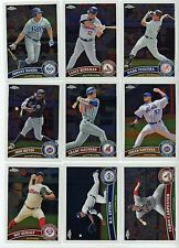 2011 Topps Chrome - #120-220 - You Pick - W1067
