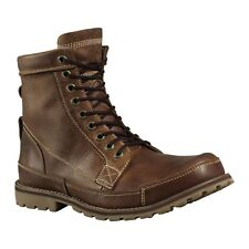 Timberland Men's Earthkeepers® Original Leather 6-Inch Boots Red Brown 15551