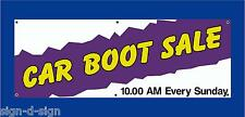 CAR BOOT SALE HERE BANNERS CHOOSE OWN DATE & TIME Car boot fares 1004