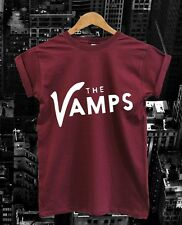 MENS LADIES UNISEX KIDS THE VAMPS LOGO T-SHIRT - album tickets