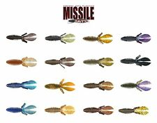 Missile Baits D Bomb Soft Plastic Lure - Select Color(s)