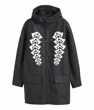 Alexander Wang for H&M Coat Jacket Parka with Printed Design Sz M L NWT