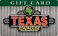 Texas Roadhouse Gift Card $25/$50/$100