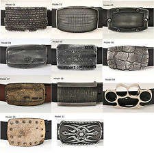 High Quality Solid Italian Belt Buckle - Choose Your Buckle -Multiple Styles -