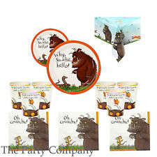 The Gruffalo Birthday Party Tableware, Plates, Cups, Napkins !!