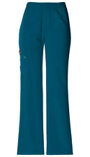 Dickies Scrubs Women's Cargo Pant 82012 Caribbean CRBZ Dickies Xtreme Stretch