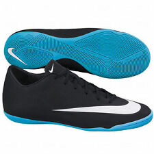 NIKE MERCURIAL VICTORY V CR IC INDOOR SOCCER CR7 SHOE Black/Neo Turquoise