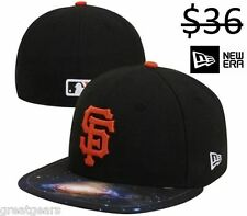 San Francisco Giants Galaxy Men New Era 59Fifty Fitted MLB Baseball Pro Hat Cap