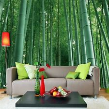 3D Mega Bamboos Wall Murals Wallpaper Decal Decor Home Kids Nursery Mural Home
