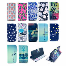 Fashion Stand Hybrid Flip Wallet Leather Case Cover For iPhone 4S 5S 5C 6/6 Plus