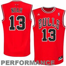 Youth Kids Chicago Bulls Joakim Noah #13 Red Replica Official Adidas Road Jersey