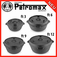 Petromax Dutch Oven - 2,3 - 14,7 Liter For Choice