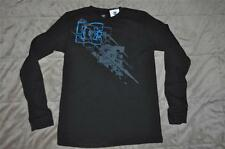 DC Shoes Boys Long Sleeve Waffle Thermal T-Shirt ADBKT00149 See Sizes Black NWT