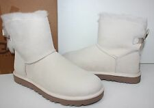 Ugg Mini Bailey Bow Salt women's boots New In Box!
