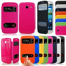 Flip PU Leather Case Cover For Samsung Galaxy Core i8260 i8262