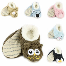 Snoozies Cozy Animal Furry Foot Coverings, Various Designs & Colors