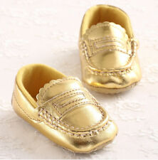 Infant Baby Boys Girls Soft Sole Prewalker Crib Shoes Moccasin-Gommino SH134