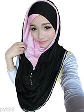 2ways2wear ruched colorblock amira hijab hijabs abaya jilbab snood underscarf