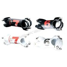 2 Types UNO Six / Seven Super Lite Bike Stem Black / White 31.8mm x 60~130mm
