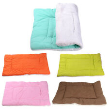 Cute Pet Pad Mat Small Big Dog Cat Puppy Crate Cage Kennel Soft Cozy Bed House