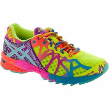 NEW Women's Asics Gel-Noosa 9 Running Shoes - Flash Yellow/Turquoise/Berry T458N