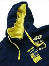 HOODED SWEATSHIRT Hoody Bike Moto GP Valentino Rossi VR 46 Hoodie Navy NEW!