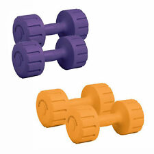 Body Sculpture Vinyl Exercise & Fitness Dumbbells Pair  Free Hand Weight