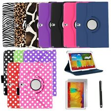 """360 Leather Case Cover Skin Stand for Samsung Galaxy Tab PRO 10.1"""" T520 - BUNDLE"""