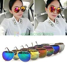 Fashion Anti-Reflective Goggle AVIATOR Metal Sunglasses Eyewear UV Protection