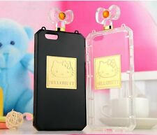 for iPhone 6 (4.7in) Hard TPU Rubber Gummy Case Cover HELLO KITTY PERFUME BOTTLE