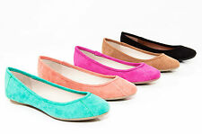 Therapy Shoes Aruba Basic Round Toe Ballet Flats Black Coral Berry Taupe Mint