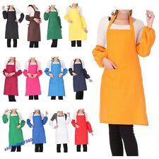 13Color New Unisex Kitchen Cooking Restaurant Bib Apron with Pocket Lowest price
