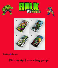 NEW HULK VS WOLVERINE MARVEL  PHONE CASE FOR SAMSUNG GALAXY S3 S4, S4 Mini & S5