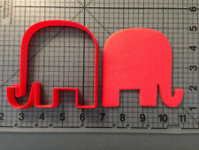 Elephant 102 Cookie Cutter