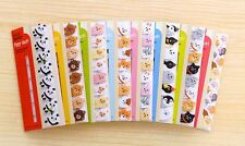 Cute Animals Index Flag Student Sticky Memo Notes Post-It Bookmark Notepad Gift