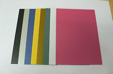 50 sheets - metallic effect moondust card - Double sided 285gsm, Colour options!