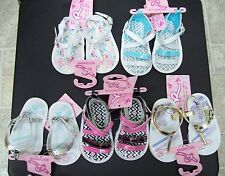 BRAND NEW BABY GIRL ROCAWEAR SANDALS ASSORTED COLORS & STYLES