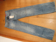 TOMMY HILFIGER RUBY ZIP STRAIGHT LEG JEANS 24 NEW