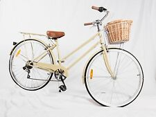 Samson Cycle 7-speed Vintage Ladies Bikes COFFEE CREAM color