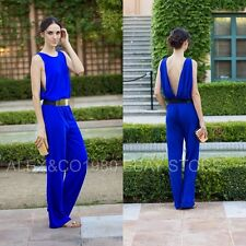 NWT_ ZARA OPEN BACK JUMPSUIT _SIZE S