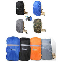 Travel Camping Rucksack Rain Dust Waterproof Bag Backpack Poncho Dry Cover S/M/L